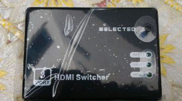 """COMMUTATORE SWITCH HDMI """"MUSOU"""""""