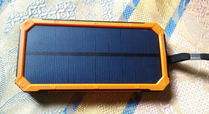Power bank con pannello solare doshin