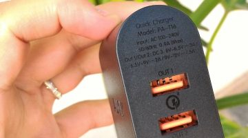 """CARICABATTERIE QUICK CHARGE 3.0 """"AUKEY"""""""