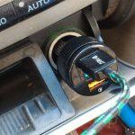 Caricatore auto quick charge 3.0 aukey
