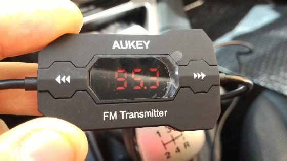 Trasmettitore FM auto stereo Aukey