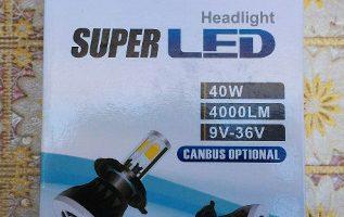 LAMPADINE LED H7 AUTO CAR ROVER