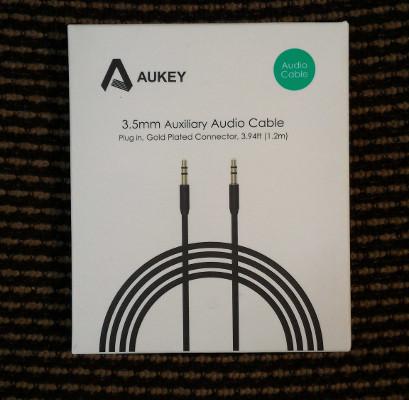 Cavo aux piatto Aukey