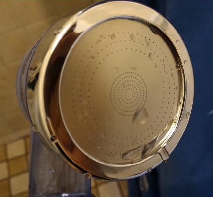 doccetta soffione purifica l'acqua efluky