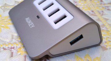 HUB 3.0 4 PORTE USB AUKEY