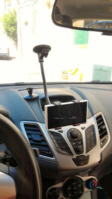 Supporto braccio smartphone per auto Ipow