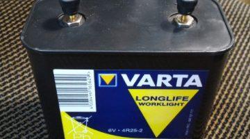 BATTERIA VARTA 4R25-2 6V