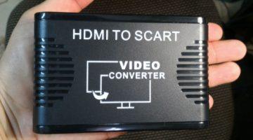 CONVERTITORE DA HDMI A SCART
