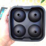 Stampo sfere di ghiaccio in silicone Blusmart