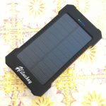 Batteria solare power bank Hiluckey