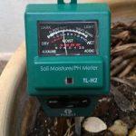Misuratore umidità ph e luce Fixkit