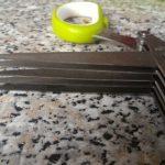Forbici 5 lame da cucina