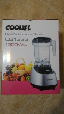 Frullatore professionale Coolife 1500w