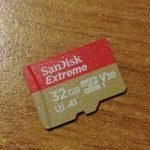 Sandisk Extreme v30 A1 recensione