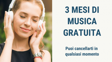 Amazon Music Unlimited: 3 mesi gratuiti