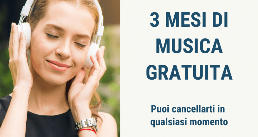 Amazon music unlmited 3 mesi gratis