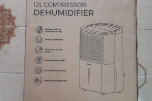 Pro Breeze deumidificatore 12L 200W