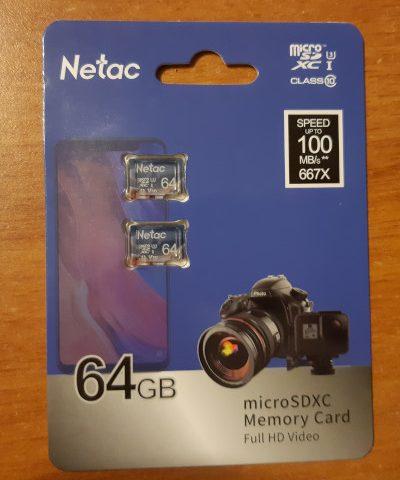 netac micro sd recensione