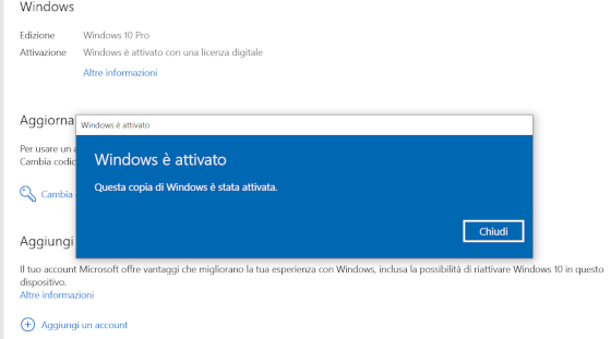 Licenza Windows 10 pro su amazon