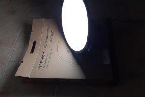 Luce led set fotografico