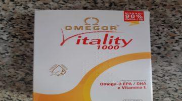 Omegor vitality 1000 Omega 3 recensione